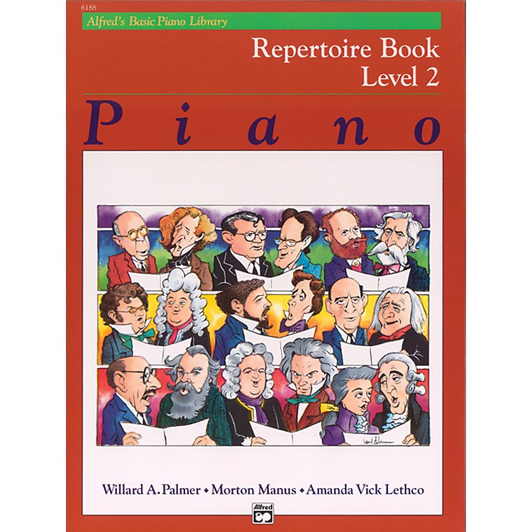 Alfred Alfred's Basic Piano Course Repertoire Book 2