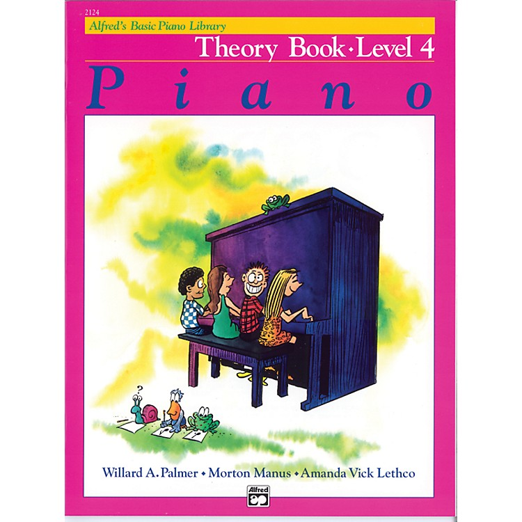 AlfredAlfred's Basic Piano Course Theory Book 4