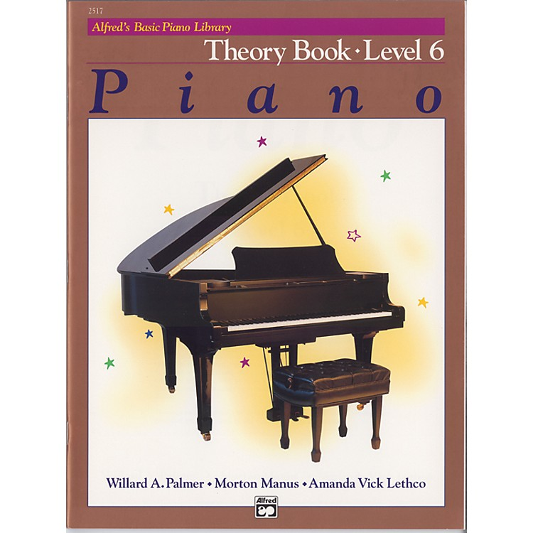 AlfredAlfred's Basic Piano Course Theory Book 6