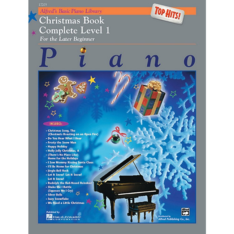 AlfredAlfred's Basic Piano Course Top Hits! Christmas Book Complete 1 (1A/1B)