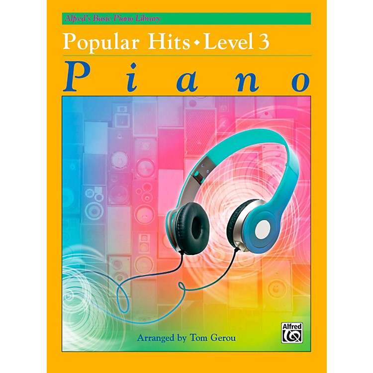 AlfredAlfred's Basic Piano Library - Popular Hits Level 3
