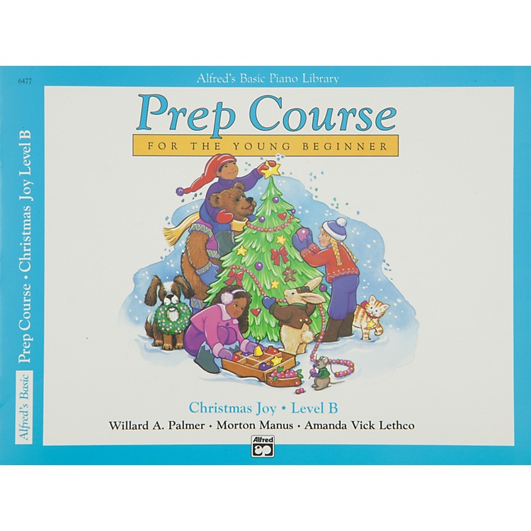 Alfred Alfred's Basic Piano Prep Course Christmas Joy! Book B