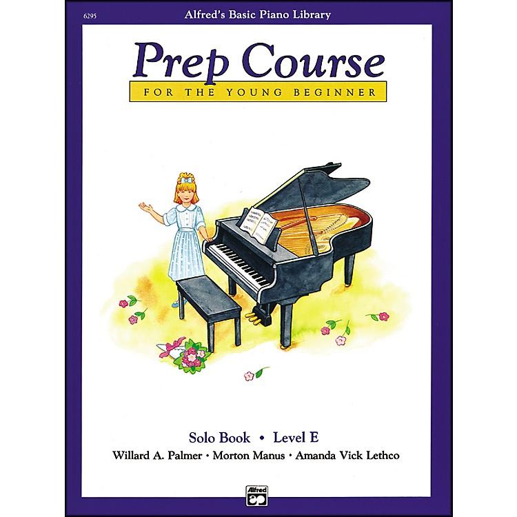 AlfredAlfred's Basic Piano Prep Course Solo Book E