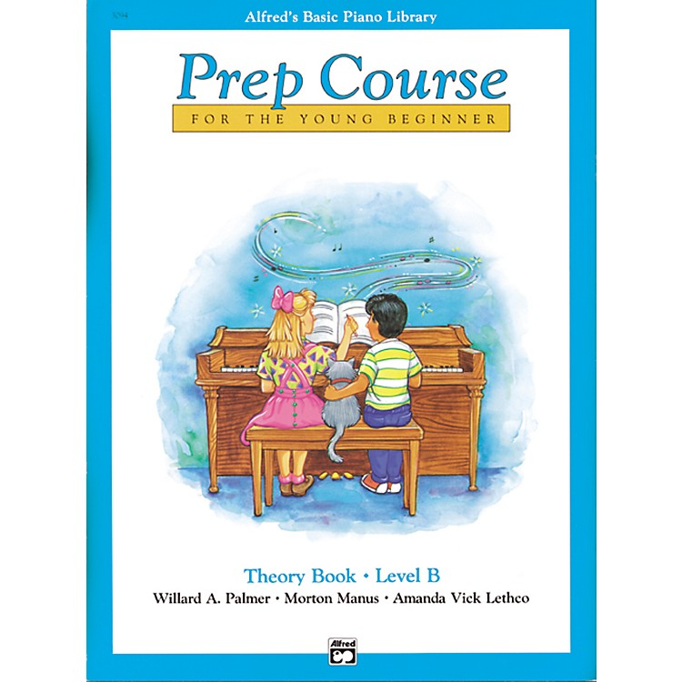 AlfredAlfred's Basic Piano Prep Course Theory Book B
