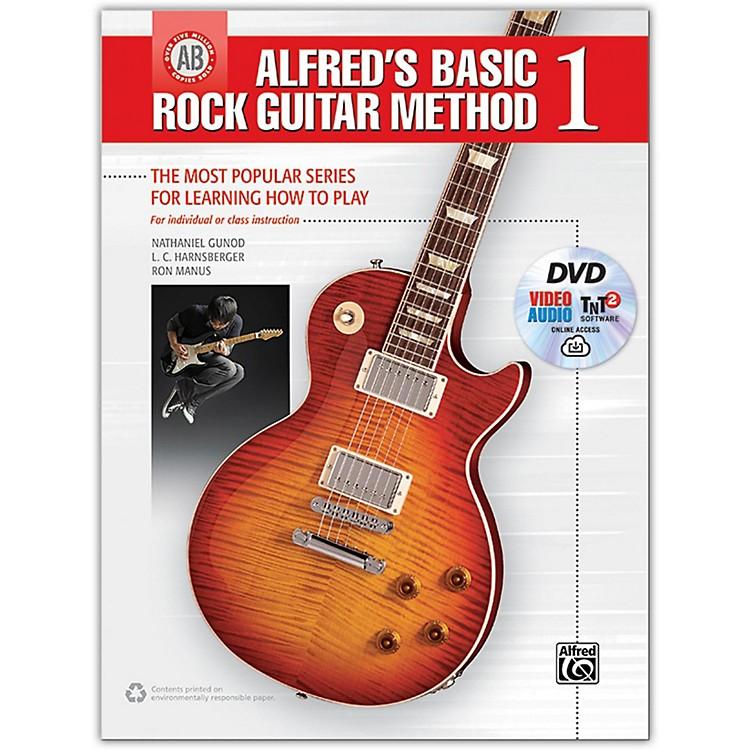 AlfredAlfred's Basic Rock Guitar Method 1 - Book, DVD & Online Audio, Video & Software