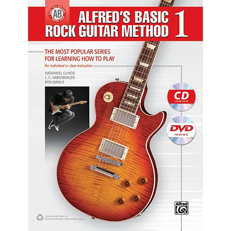 AlfredAlfred's Basic Rock Guitar Method 1 (Book/CD/DVD)