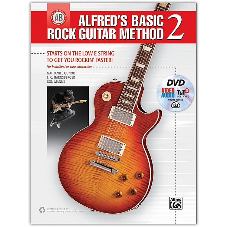 Alfred Alfred's Basic Rock Guitar Method 2 - Book, DVD & Online Audio, Video & Software