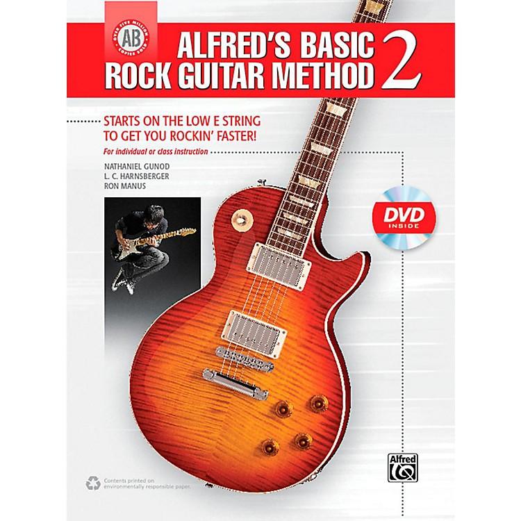 AlfredAlfred's Basic Rock Guitar Method 2 Book & DVD