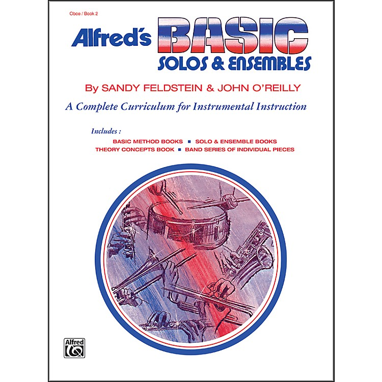 Alfred Alfred's Basic Solos and Ensembles Book 2 Oboe