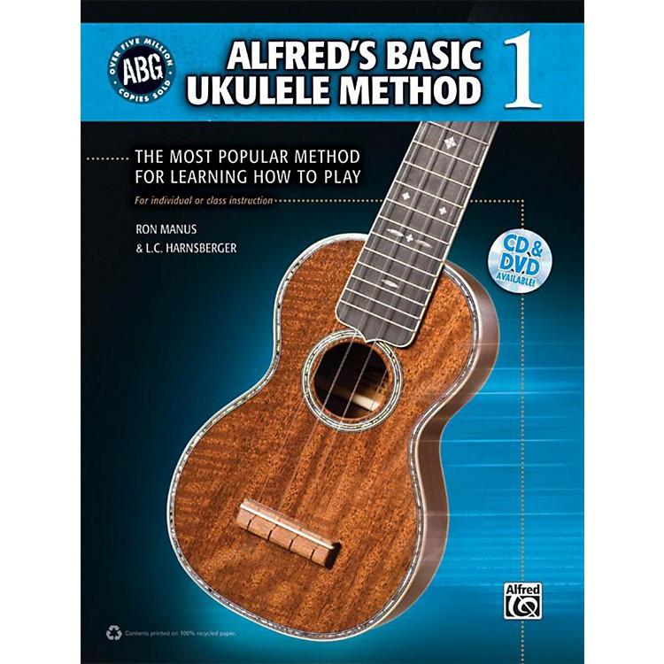 AlfredAlfred's Basic Ukulele Method 1 - Book, CD & DVD