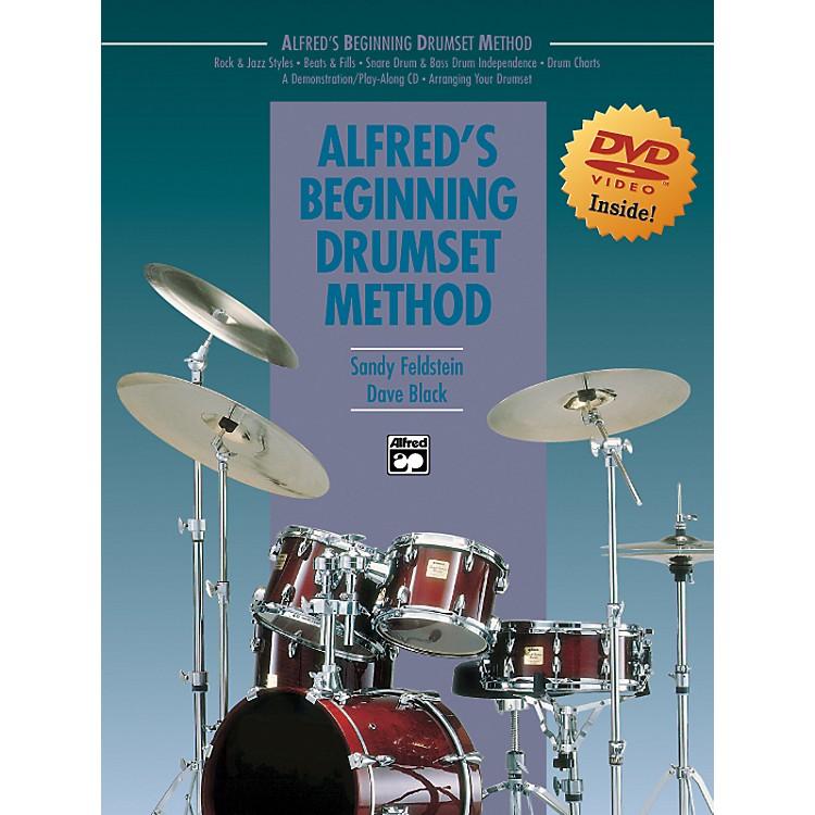 AlfredAlfred's Beginning Drumset Method Book & DVD in Sleeve
