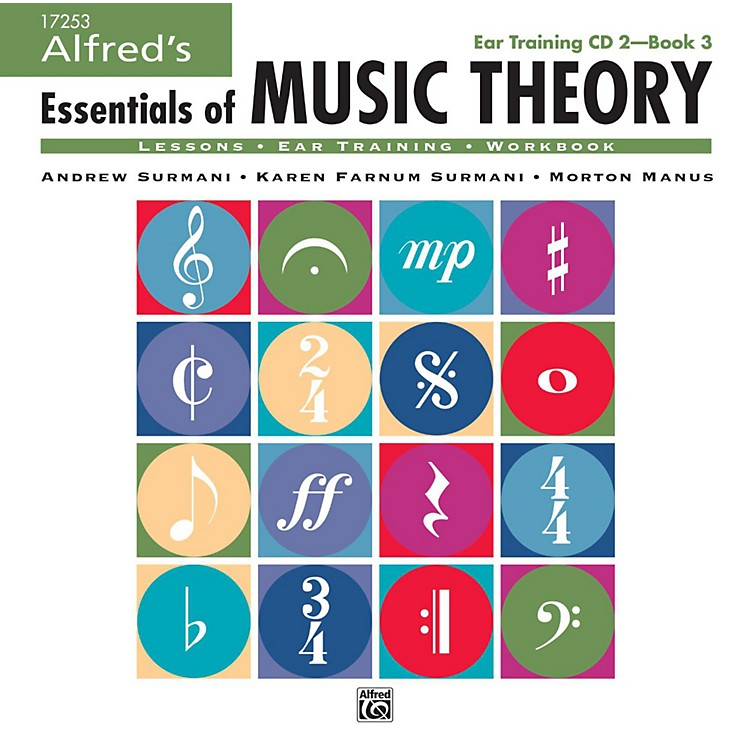 AlfredAlfred's Essentials of Music Theory: Ear Training CD 2 for Book 3
