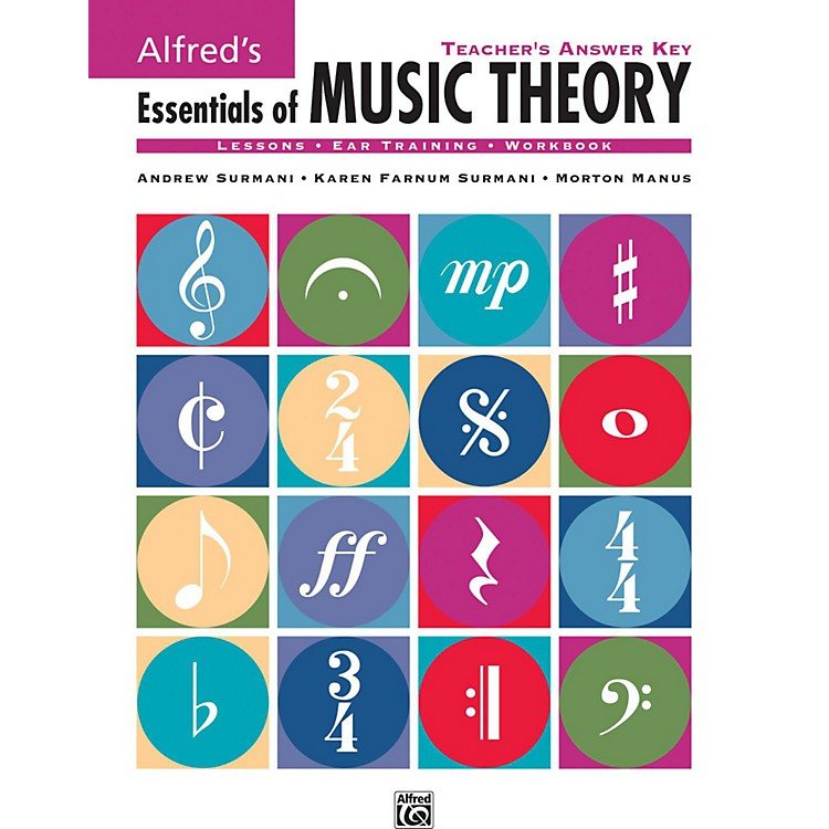 AlfredAlfred's Essentials of Music Theory: Teacher's Answer Key Book & 2 Ear Training CDs