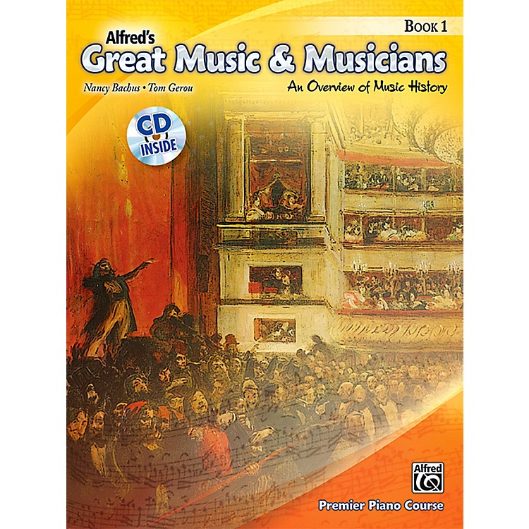 AlfredAlfred's Great Music & Musicians Book 1 & CD