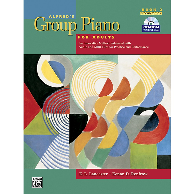 AlfredAlfred's Group Piano for Adults Student Book 2 (2nd Edition) Book 2 with CD-ROM