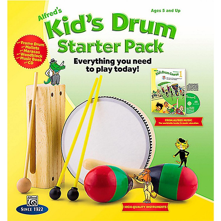 AlfredAlfred's Kid's Drum Course Complete Starter Pack