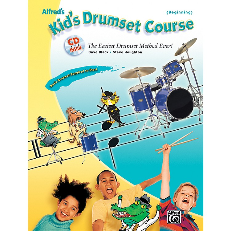 AlfredAlfred's Kid's Drumset Course Book & CD