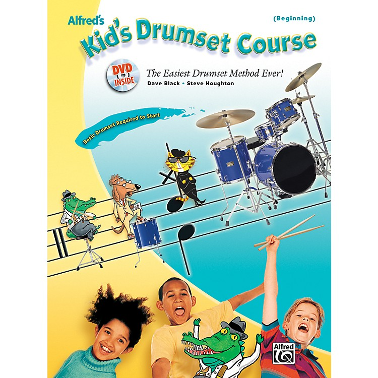 AlfredAlfred's Kid's Drumset Course Book & DVD
