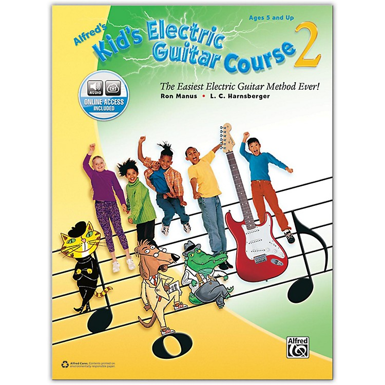 AlfredAlfred's Kid's Electric Guitar Course 2 - Book & Online Audio