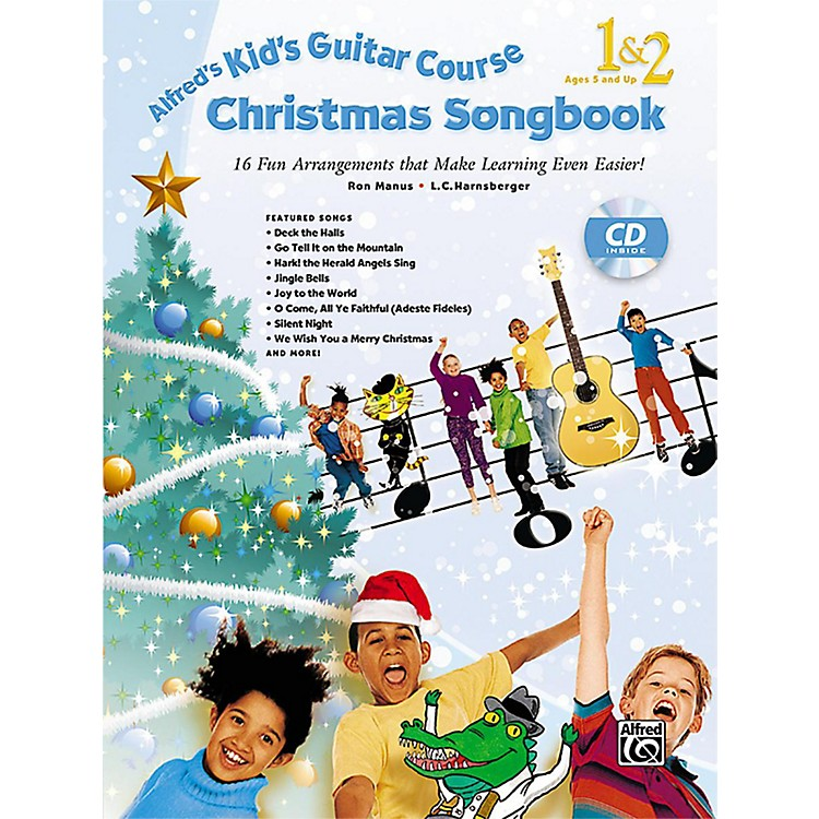 AlfredAlfred's Kid's Guitar Course Christmas Songbook 1 & 2 with CD