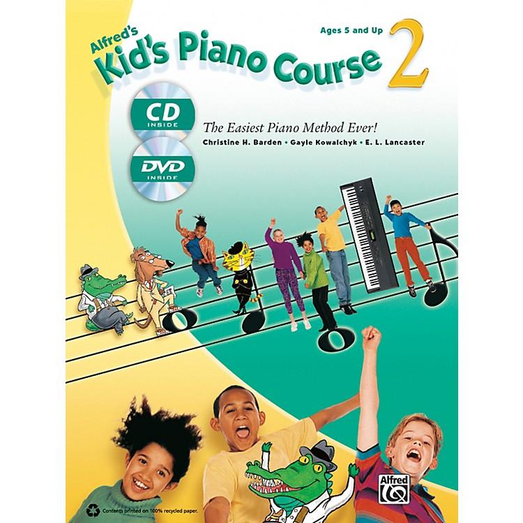 AlfredAlfred's Kid's Piano Course 2 Book, CD & DVD