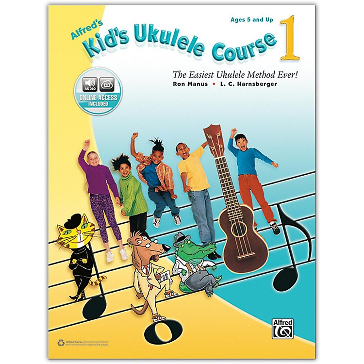 AlfredAlfred's Kid's Ukulele Course 1 - Book & Online Audio