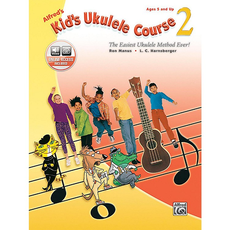 Alfred Alfred's Kid's Ukulele Course 2 Book & Online Audio
