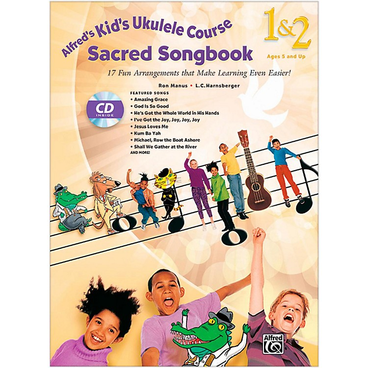 Alfred Alfred's Kid's Ukulele Course Sacred Songbook 1 & 2 Book & CD