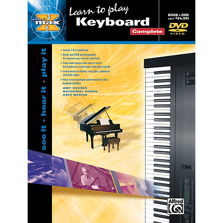 AlfredAlfred's MAX Keyboard Complete Book & DVD in Sleeve