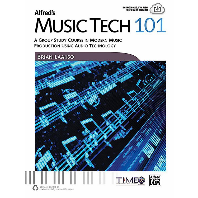 AlfredAlfred's Music Tech 101 - Book