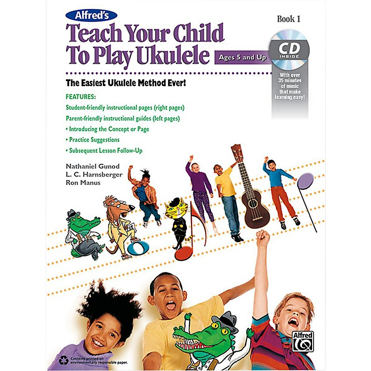 AlfredAlfred's Teach Your Child to Play Ukulele Book & CD 1