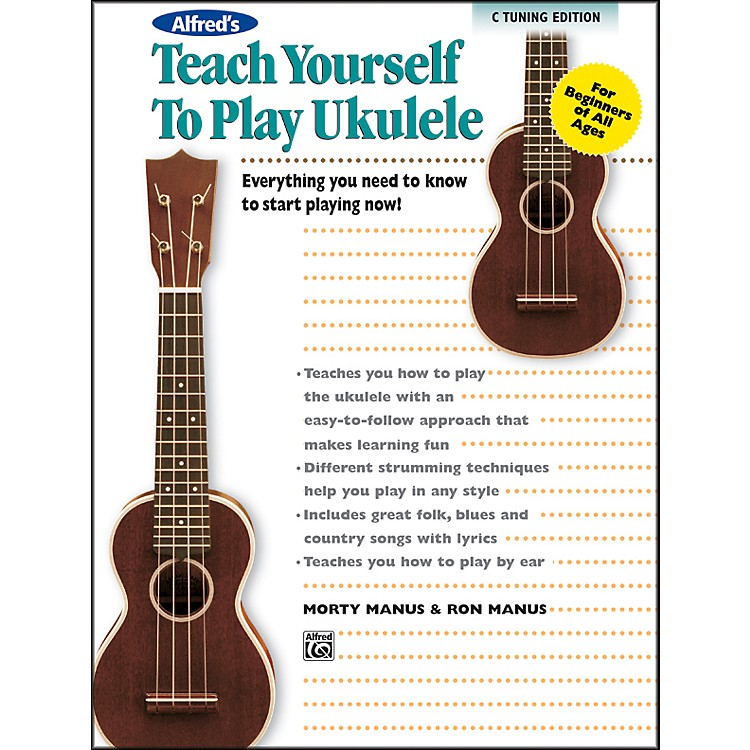 AlfredAlfred's Teach Yourself to Play Ukulele C-Tuning Edition Book & CD