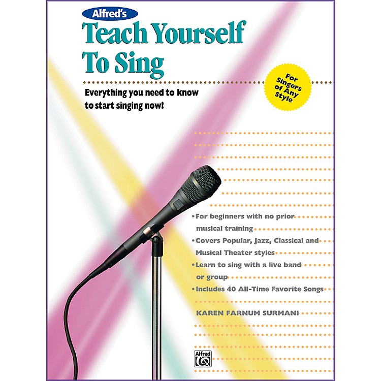 Alfred Alfred's Teach Yourself to Sing Book & Enhanced CD