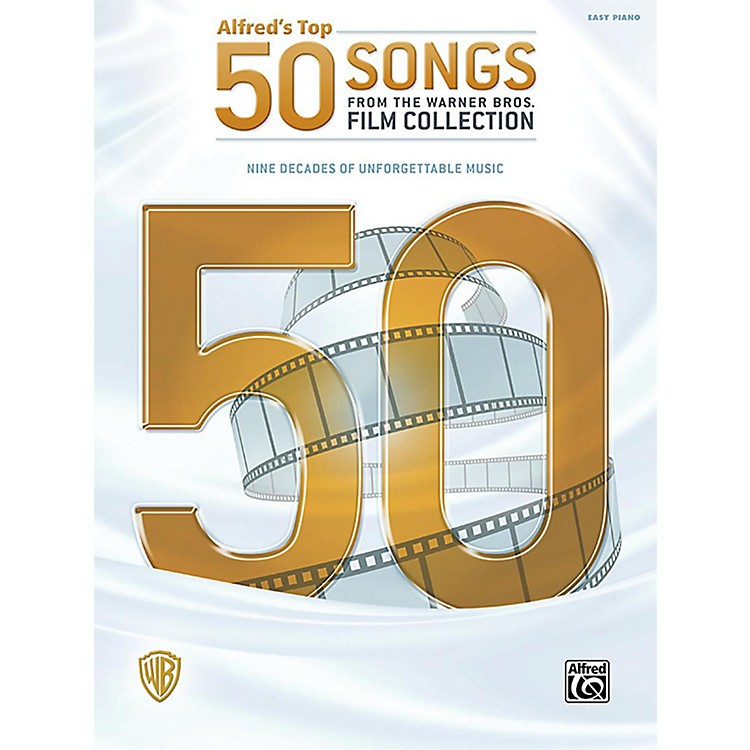 AlfredAlfred's Top 50 Songs from the Warner Bros. Film Collection Easy Piano Songbook