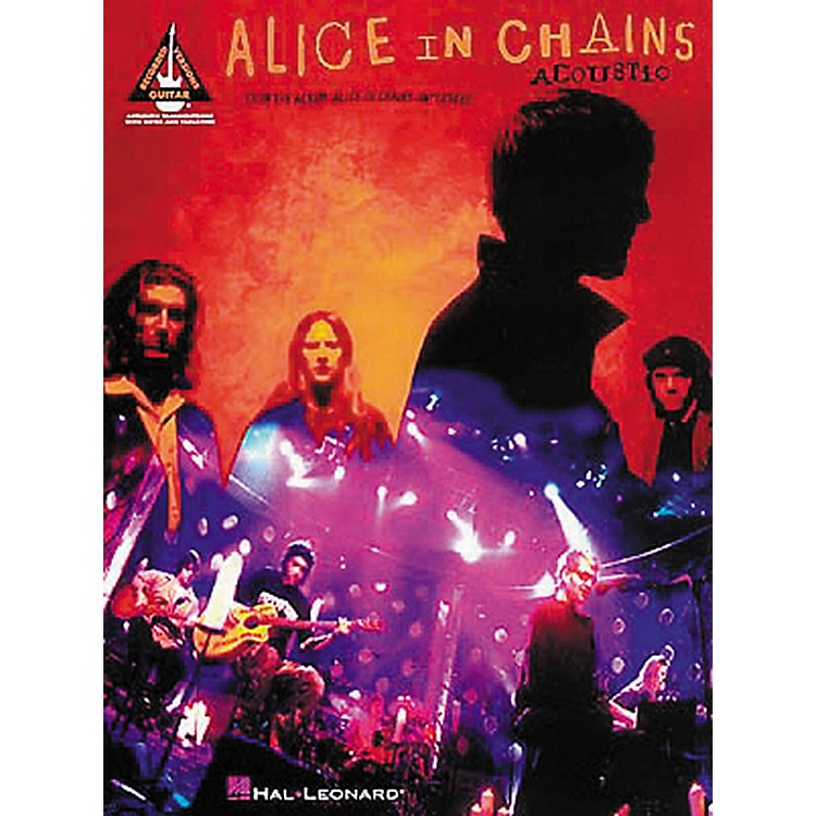 Hal Leonard Alice In Chains Acoustic Unplugged Guitar Tab Songbook