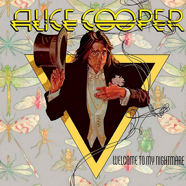 RED AliceCooper - Welcome to My Nightmare LP
