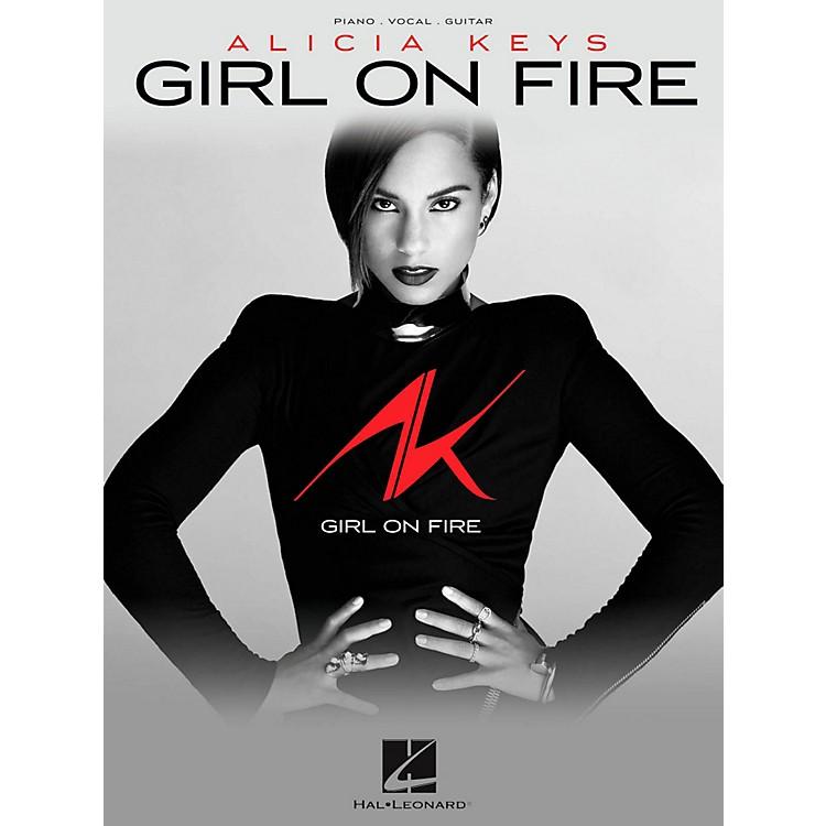 Hal LeonardAlicia Keys - Girl On Fire Piano/Vocal/Guitar PVG