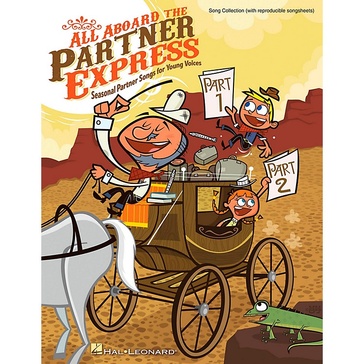 Hal LeonardAll Aboard The Partner Express - Seasonal Partner Songs for Young Voices Songbook