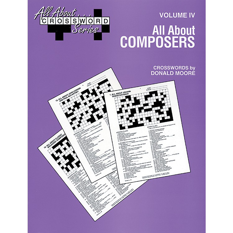 AlfredAll About Composers Crossword Puzzles