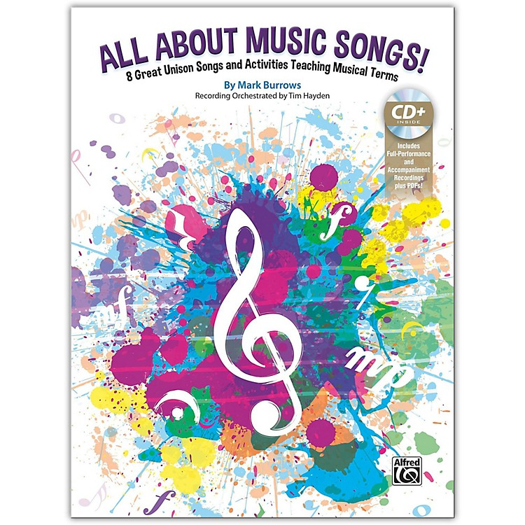 AlfredAll About Music Songs! Book & Enhanced CD Grades 2-6