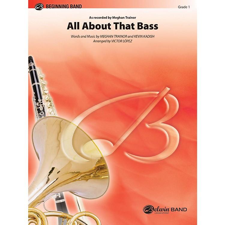 AlfredAll About That Bass Concert Band Grade 1