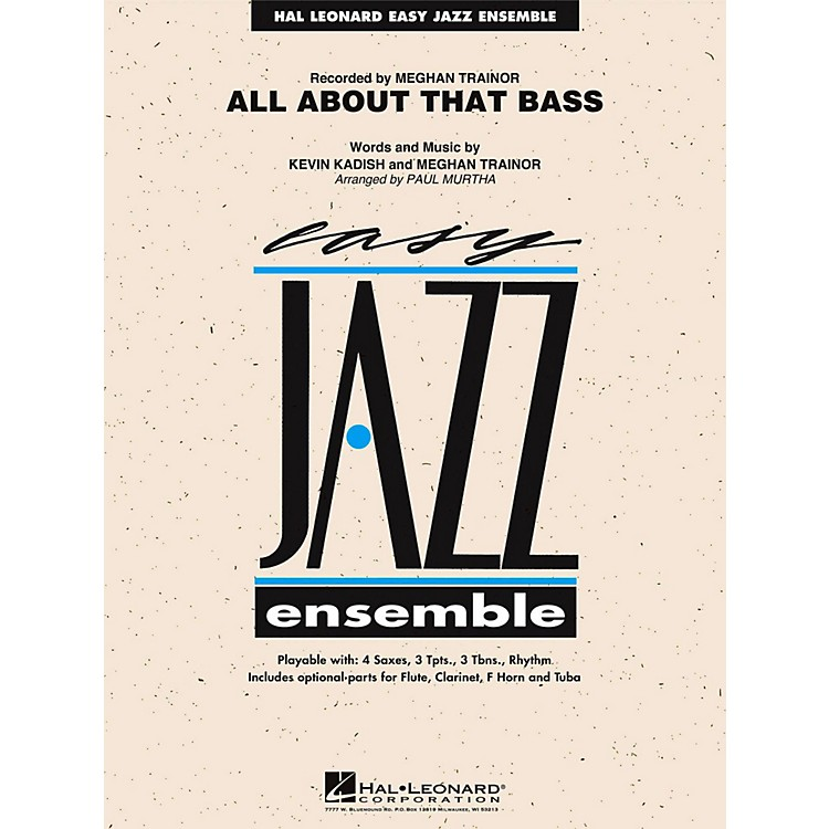 Hal LeonardAll About That Bass Jazz Band Level 2