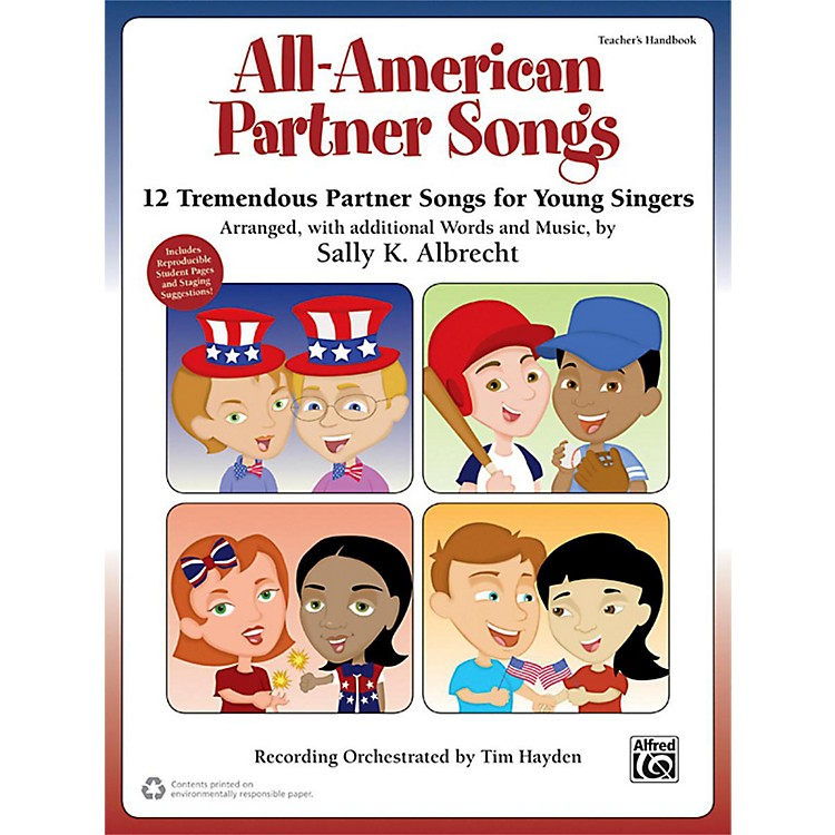 AlfredAll-American Partner Songs Enhanced CD