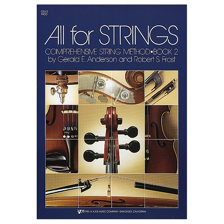 KJOS All For Strings Book 2 Cello