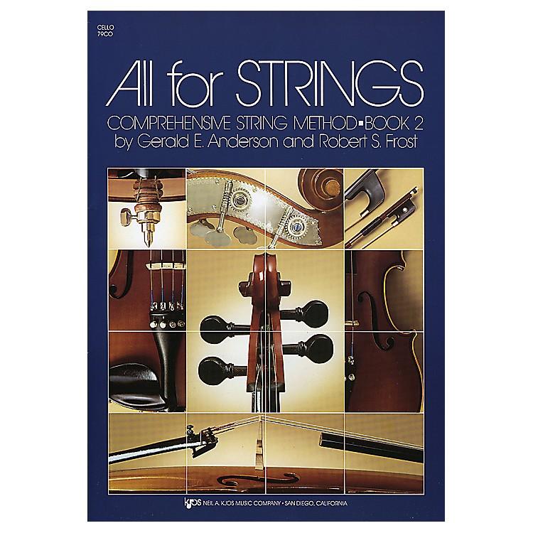 KJOSAll For Strings Book 2Cello