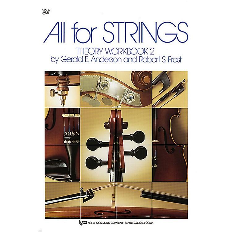KJOSAll For Strings Theory Workbook 2Violin