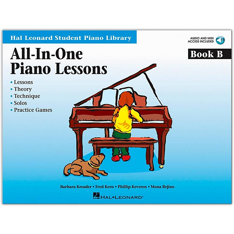 Hal Leonard All-In-One Piano Lessons Book B Book/CD Package Hal Leonard Student Piano Library