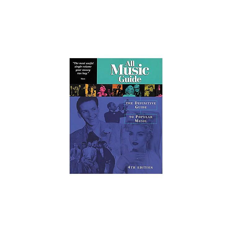 Backbeat BooksAll Music Guide to Popular Music Book