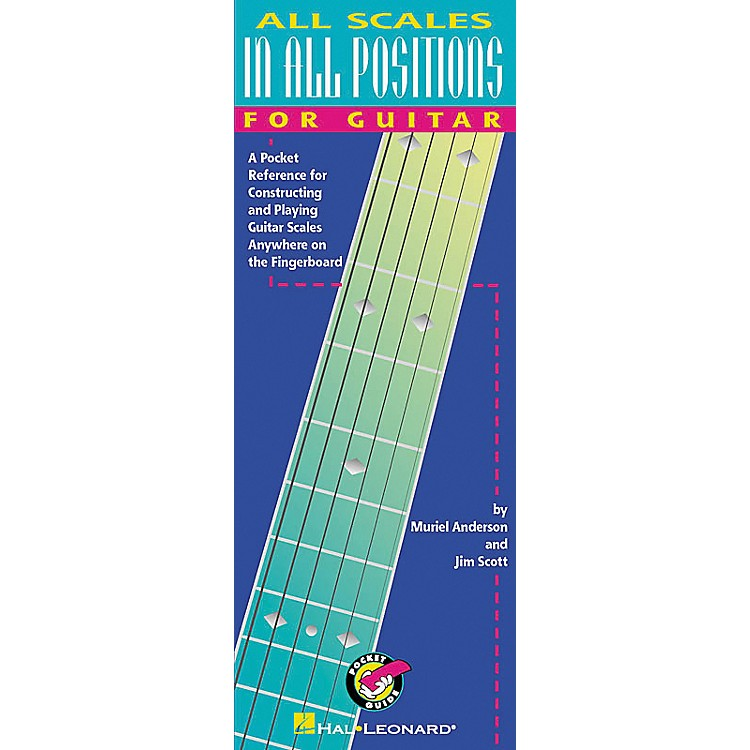 Hal Leonard All Scales in All Positions for Guitar Book