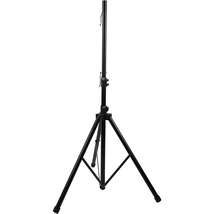 Musician's Gear All-Steel Tripod Speaker Stand Black